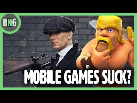 MOBILE GAMES ARE TAKING OVER? Birthday Boy! - Bare Necessities Podcast 3