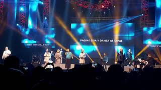 DAKILANG KATAPATAN-PAPURI SINGERS AT CBN ASIA 25 YEARS (ALL FOR THE ONE WORSHIP NIGHT)