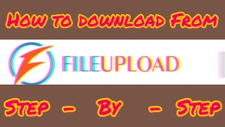 How to download files from file-up.org website?