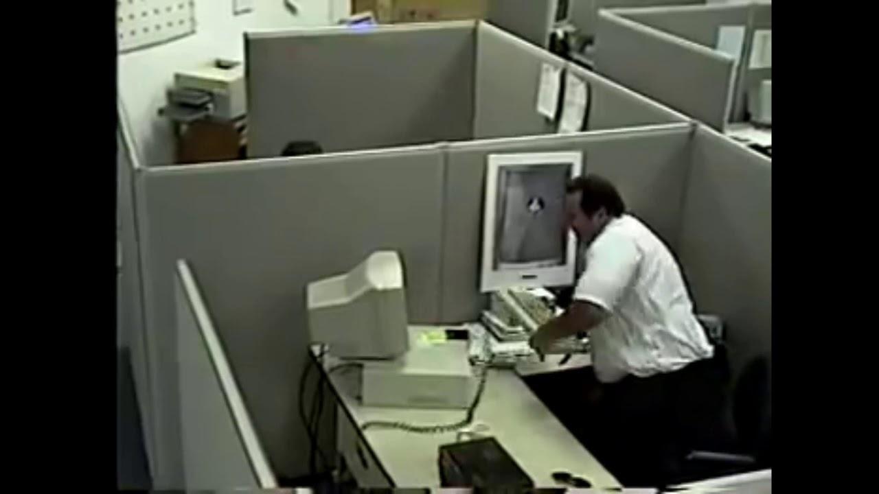 Man breaking computer meme template - YouTube