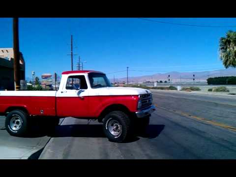 1966 Ford F 250 Truck Youtube