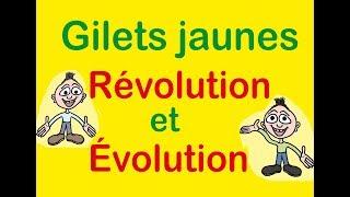 Gilets Jaunes, révolution et évolution.