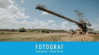 [4K] Największe maszyny świata - zwałowarka Bełchatów
