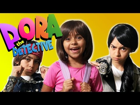 Dora The Explorer - Movie Trailer Parody : SKETCH COMEDY // GEM Sisters