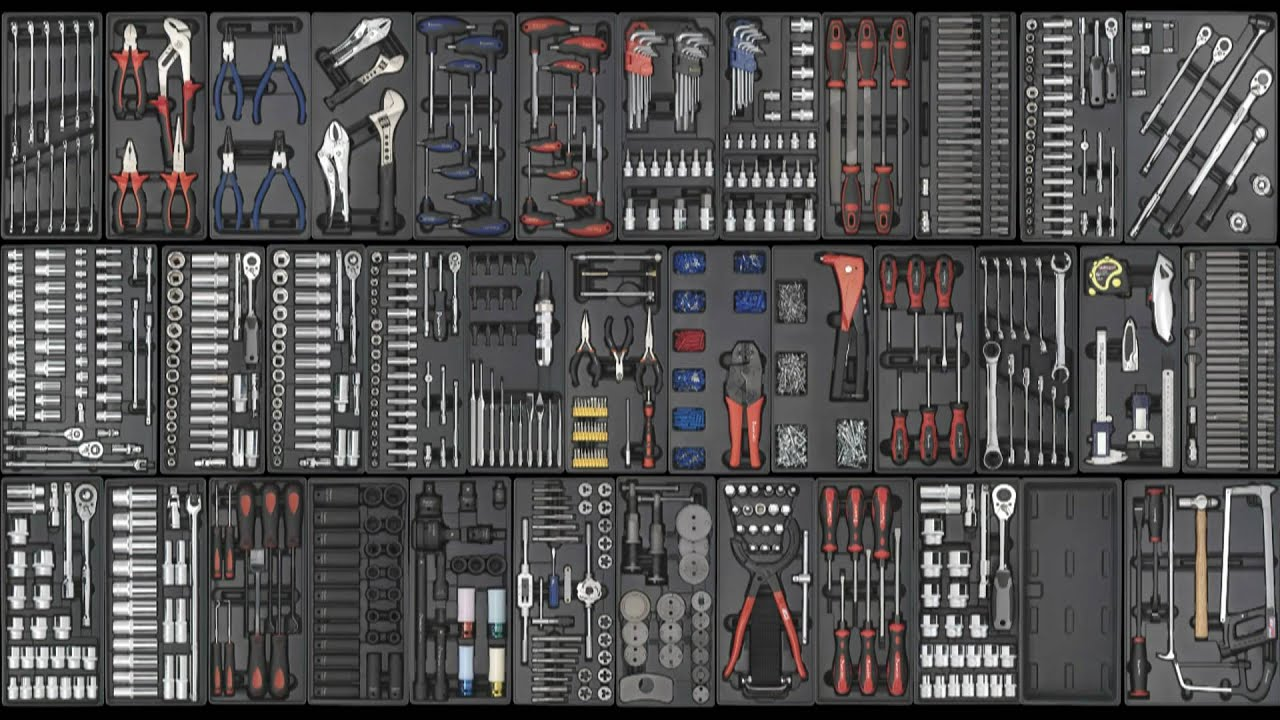 Handler System 5Piece Tool Kit and Garage Storage System