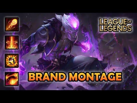 BRAND MONTAGE - Insane Combo | Eternal Dragon Brand Skin | League of Legends