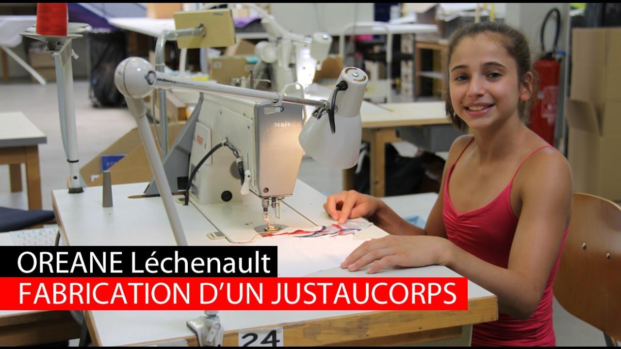 Avec Oréane, découvrez la fabrication d un justaucorps - YouTube c56ed7d07722