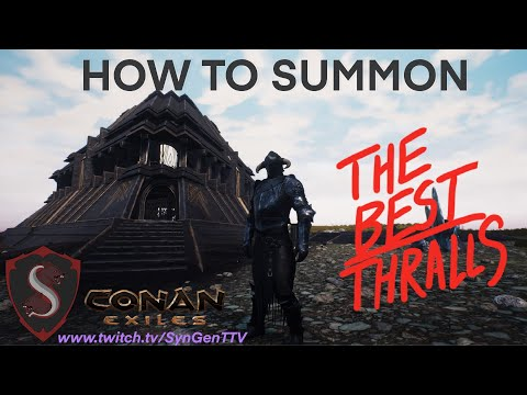 Isle Of Siptah Summoning Thralls! Only Guide You Will EVER Need! |
