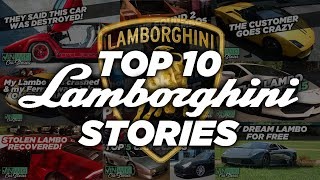 VINwiki's Top 10 Lamborghini Stories