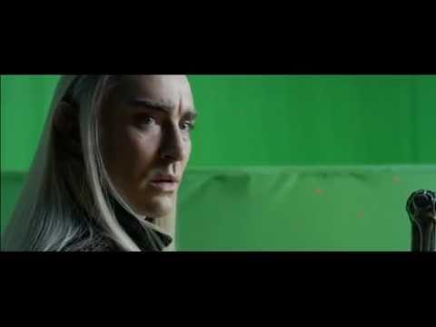 THRANDUIL AND LEGOLAS - Deleted scene/The Hobbit DOS