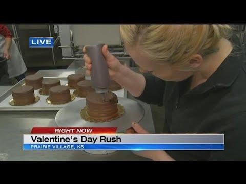 Valentine's Day ups demand by 400% at Dolce Bakery in Prairie Village