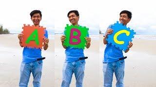 ABC Song at Beach