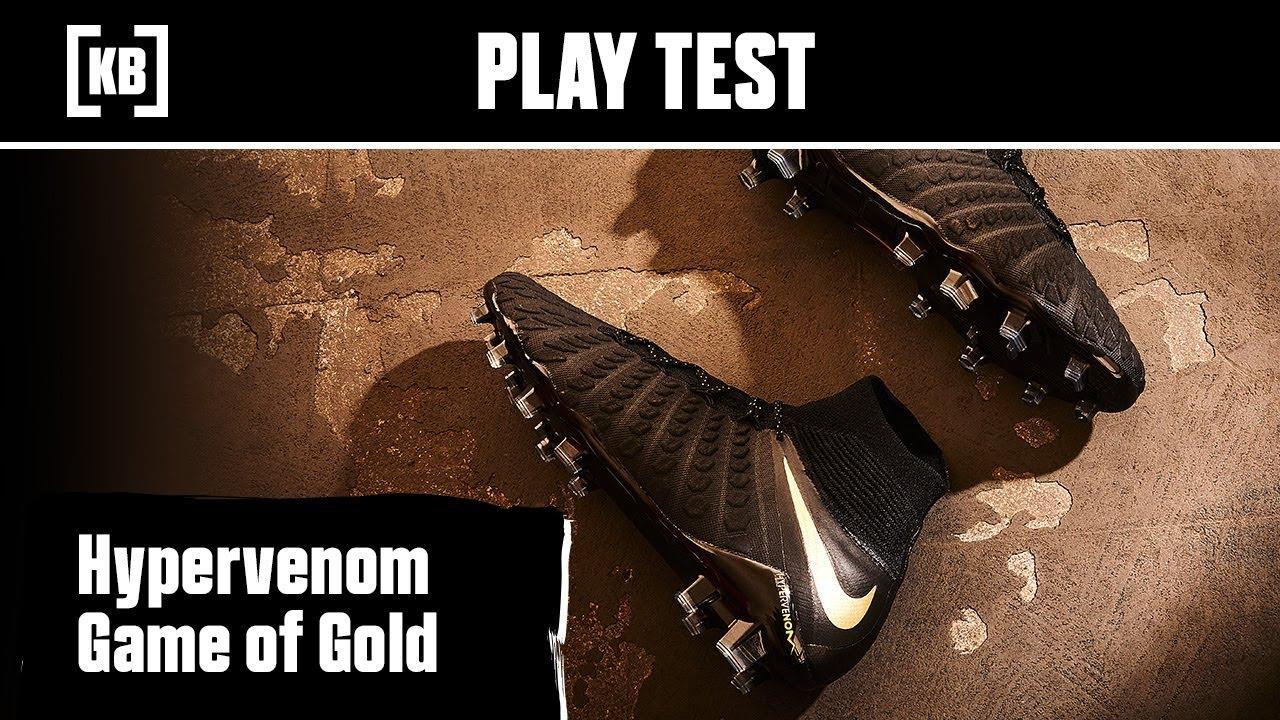 c5901eb27b82 Nike Hypervenom Game of Gold | Play Test - YouTube