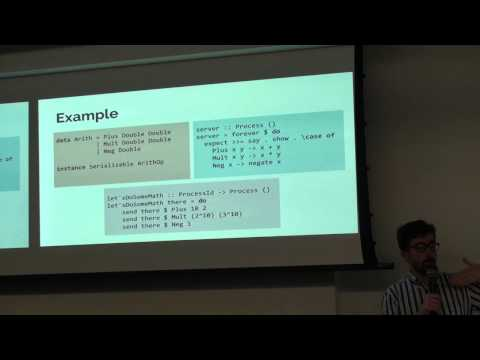 ZuriHac 2015 - Distributed Programming in Haskell