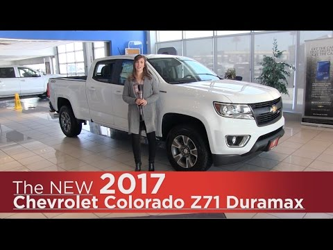 New 2017 Chevrolet Colorado Z71 (Duramax & Gas) - Mpls, St Cloud, Monticello, Buffalo, Rogers, MN
