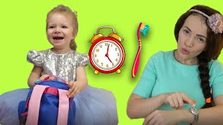 Put on Your Shoes Song|Morning rutine song.Hurry Up to school| Go brush your teeth song