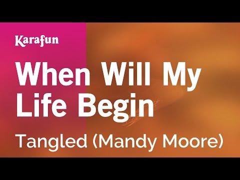 Karaoke When Will My Life Begin - Tangled *