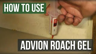 how to get rid of german roaches with advion roach gel