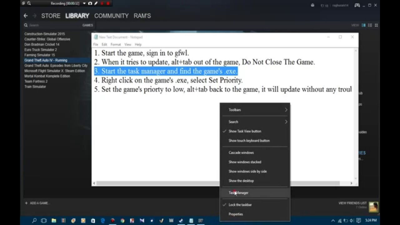 Windows Live Profile Update Error Fix For Gta 4 Youtube