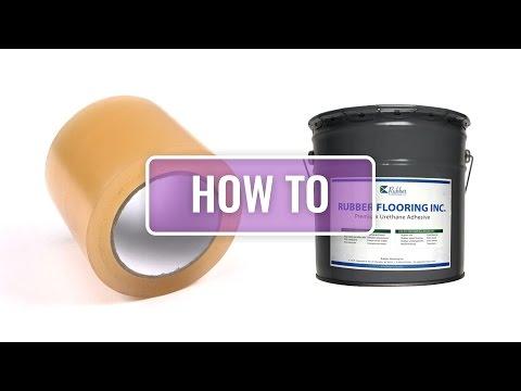 How to Install Vinyl Planks- Vinyl Tape & Glue Installation
