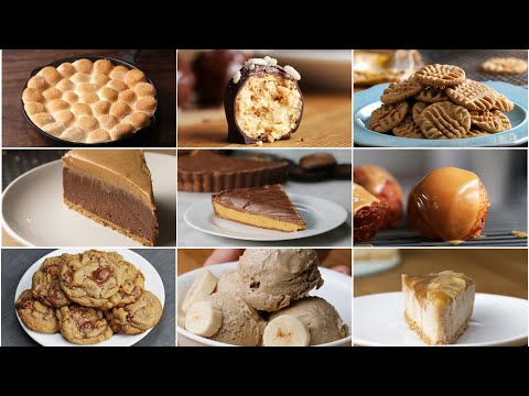 9 Desserts for Peanut Butter Lovers