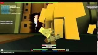 (roblox) attack on titan all alone