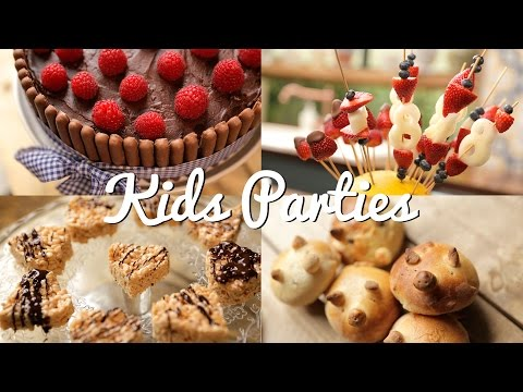 KIDS PARTY RECIPE IDEAS | Crumbs