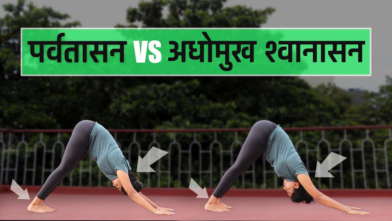 Downward Facing Dog Pose In Hindi