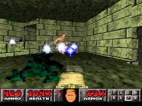 PSX Doom - Level 30: Threshold of Pain