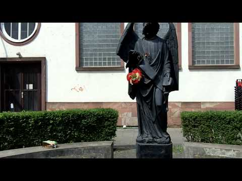 No.23 Frankfurter Engel-Denkmal - Kultur mit QR Code in Frankfurt