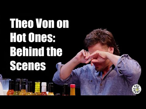 The Man Cave - Theo Von on Hot Ones - Behind the Scenes