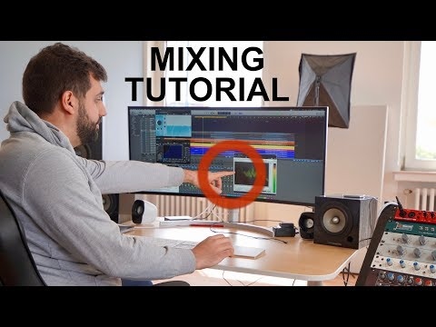 HOW TO MIX A SONG IN 20 MIN - FULL MIXING TUTORIAL