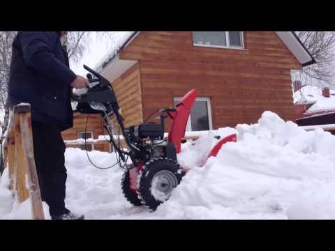 Как работает снегоуборочная машина