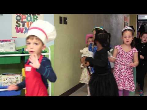 Grange Hall Elementary School Nursery Rhyme Parade