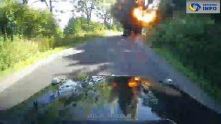 Взривиха една от G-класите на авторитетен подземен бос в Украйна!