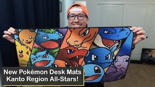 Custom Pokémon Desk Mats Featuring Kanto Region Classics from iThrowTrainz