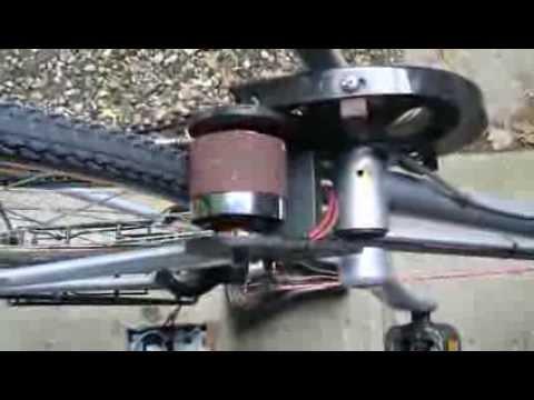 brushless motor fahrrad