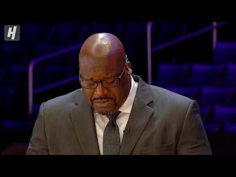 Shaq Breaks Down In Tears Talking about Kobe Bryant