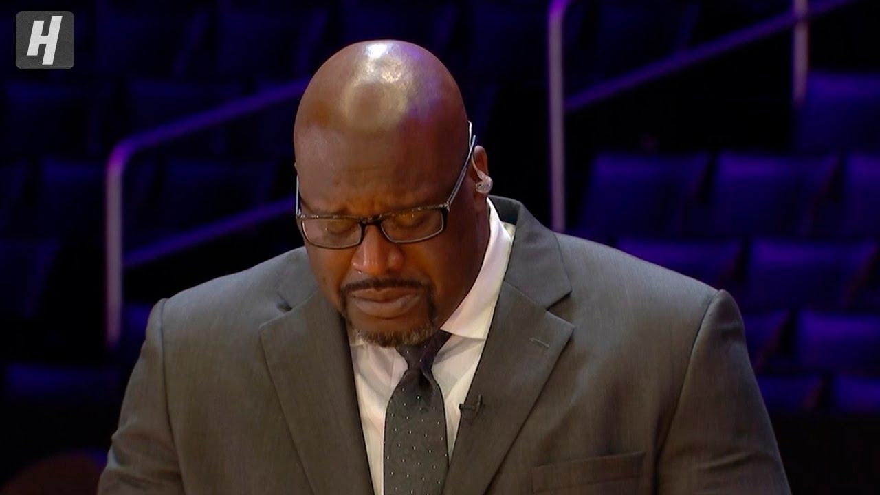 Download Shaq Breaks Down In Tears Talking about Kobe Bryant