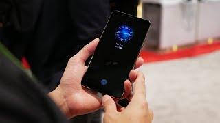Synaptics in-screen fingerprint sensor hands-on