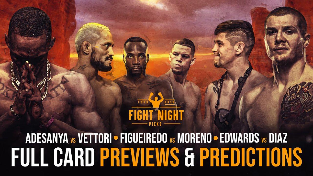 UFC 263 predictions -- Israel Adesanya vs. Marvin Vettori: Fight card ...
