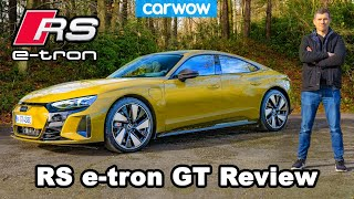 Audi RS e-tron GT 2021 in-depth review...see how I broke it. Oops!