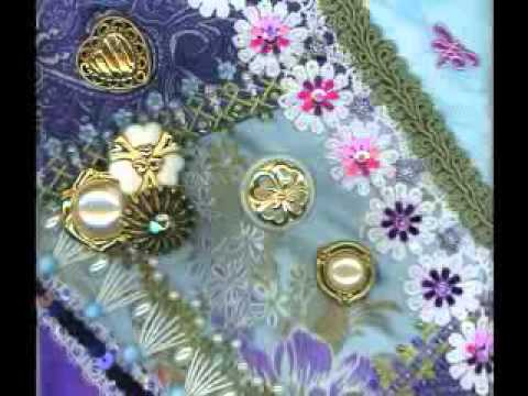 The Crazy Button Quilt Youtube