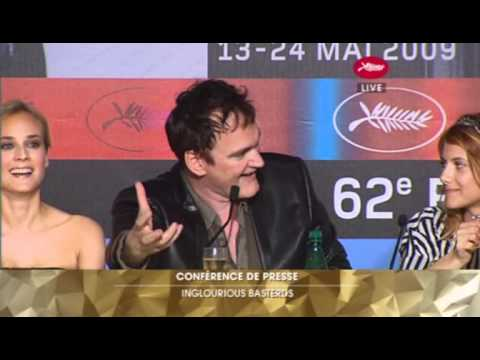 Inglourious Basterds Full Press Conference - Cannes Film Fes