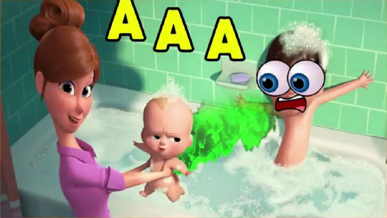 Download THE BOSS BABY Craziness TRY TO LAUGH OR GRIN