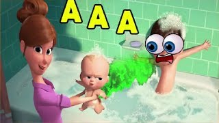 THE BOSS BABY Craziness TRY TO LAUGH OR GRIN