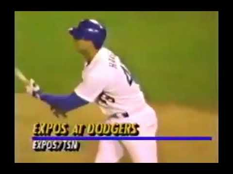 1991 07 26 Expos at Dodgers (Mark Gardner near no-hitter; partial)