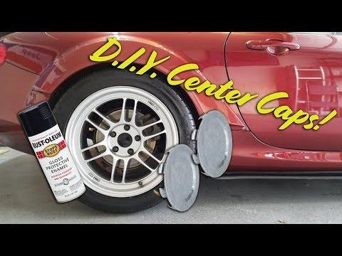 DIY Wheel Center Caps For RPF1 Wheels! Super Easy!