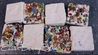 Easter Treat Idea: Easter Bunny Bark ♡