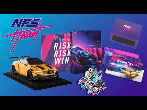 Need For Speed HEAT   Collectors Edition UNBOXING! |